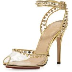 charlotte-olympia-soho-studded-pvc-ankle-wrap-sandals-in-transparentgold-thumb200927
