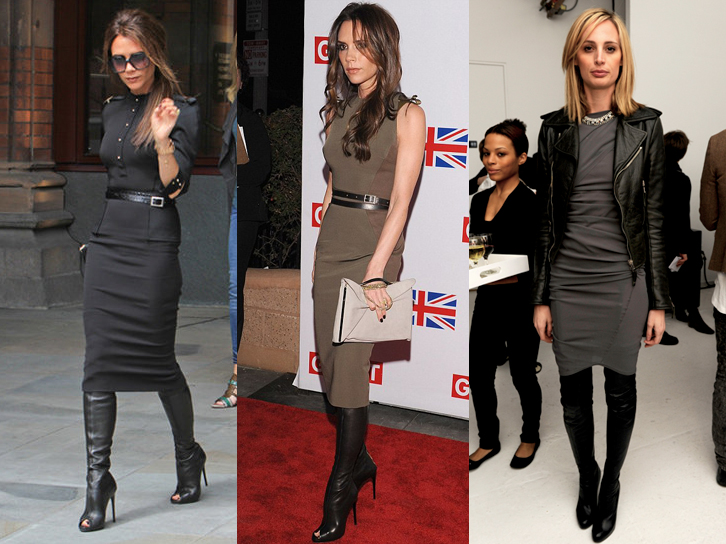 Victoria-Beckham-over-the-knee-boots-pencil-dress-copy